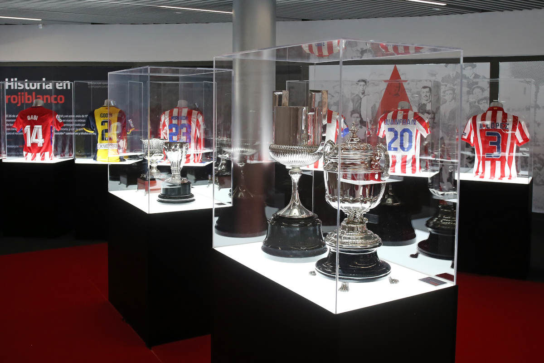 Visite du stade Wanda Metropolitano