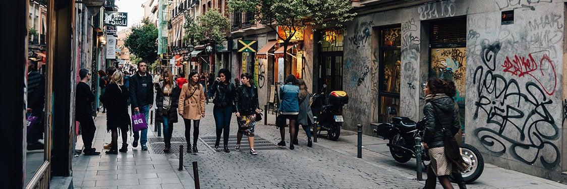 Barrios y zonas de Madrid