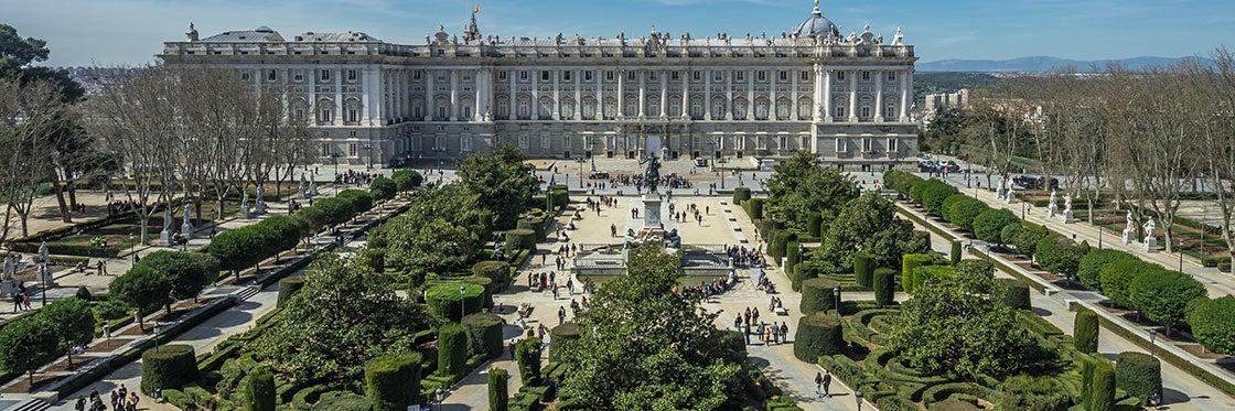 Plaza De Oriente The Royal Palace Square