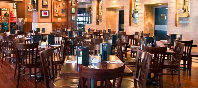 Comida o cena en el Hard Rock Cafe Madrid