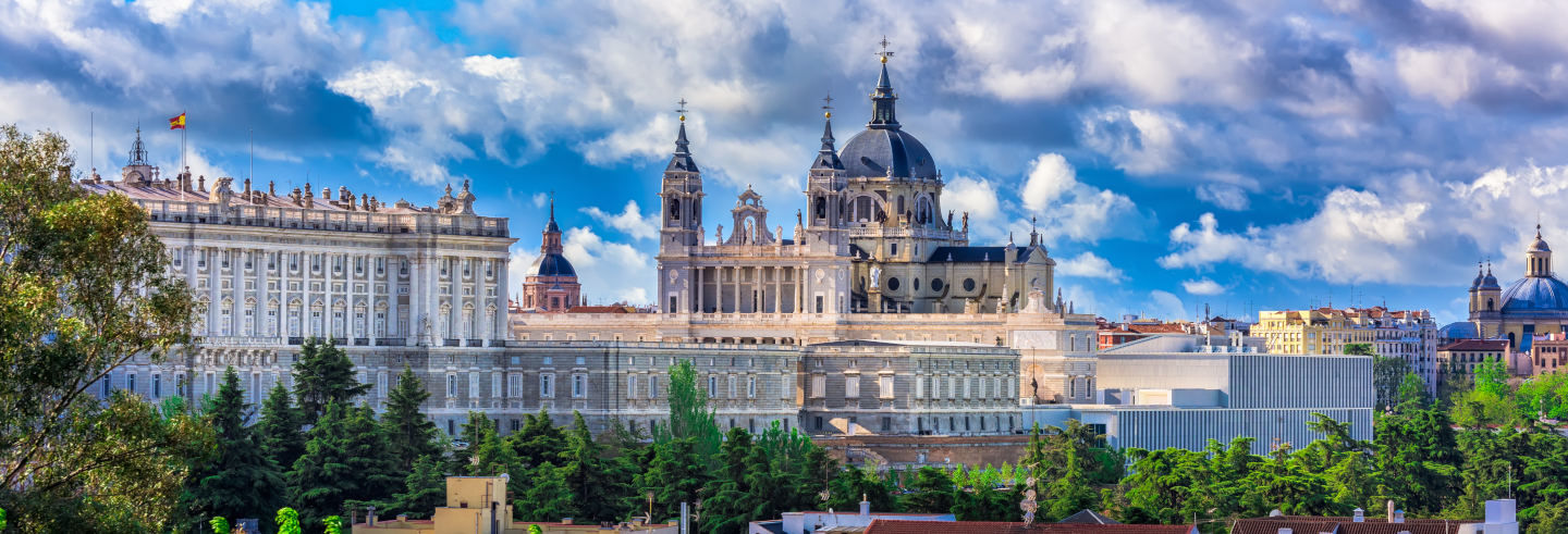 Palacio Real + Catedral de la Almudena