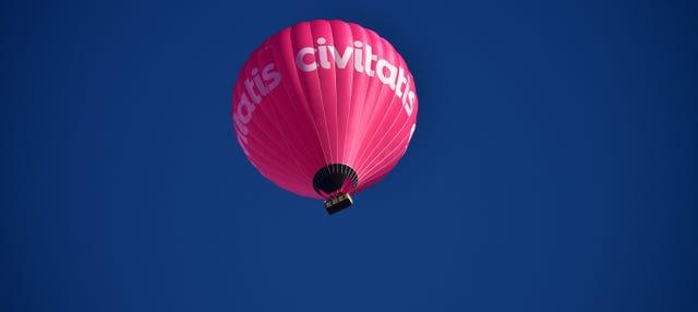 Paseo en globo por Segovia