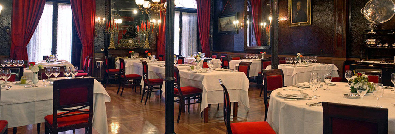 Dîner au restaurant Lhardy