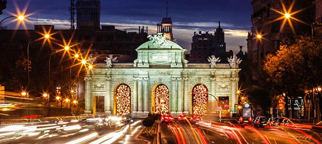 Tour nocturno por el Madrid iluminado