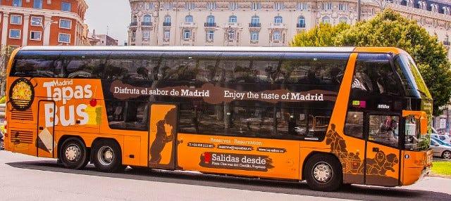 Tour en bus panoramique avec tapas