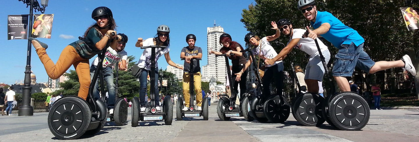 Tour di Madrid in segway
