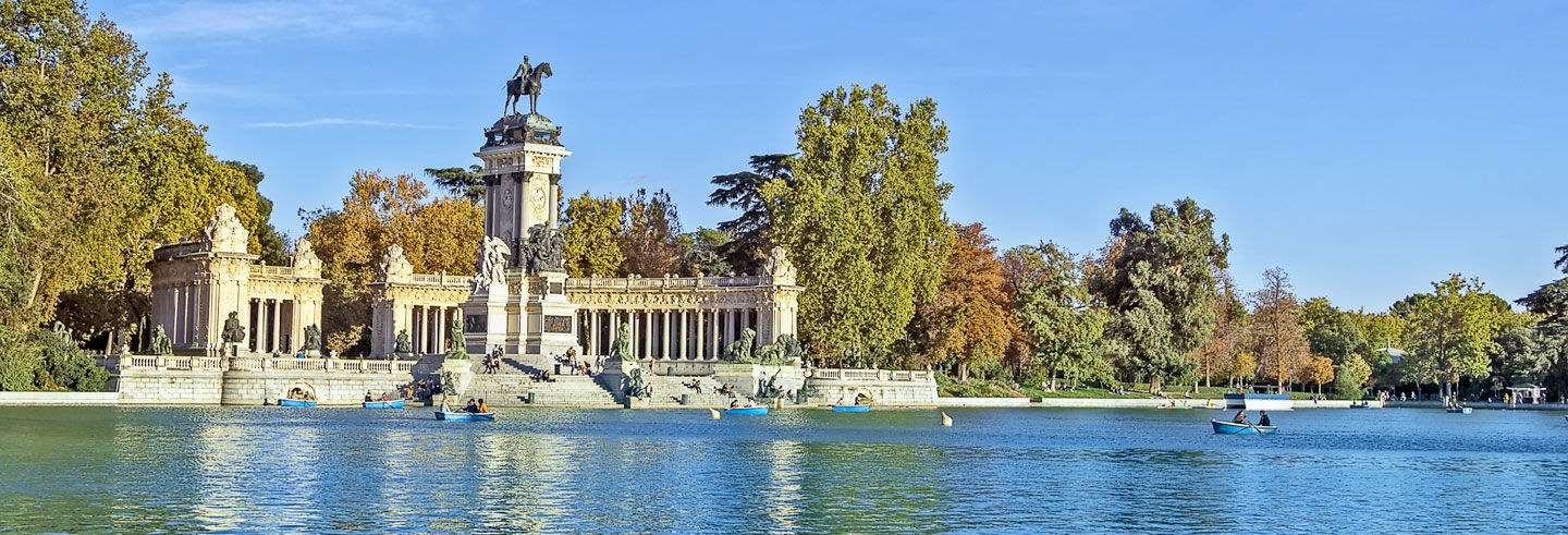 Visita guiada por el parque del retiro madrid for Parques de madrid espana