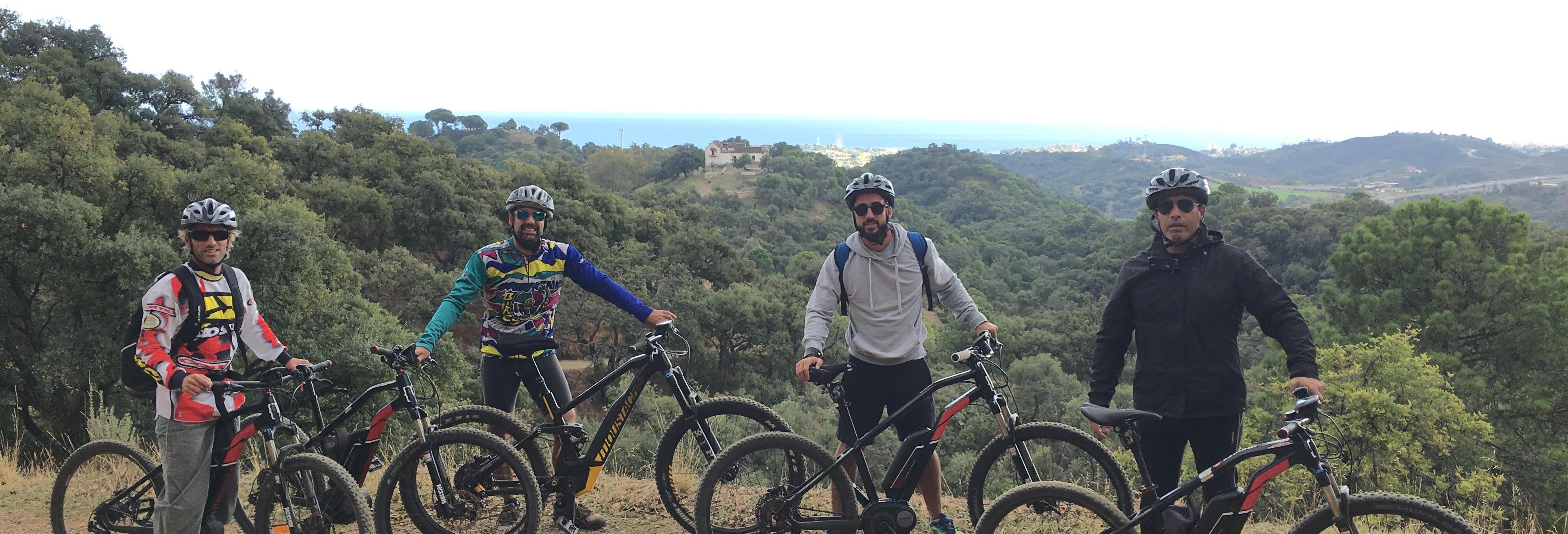 Tour en bicicleta eléctrica por el Parque de la Concepción