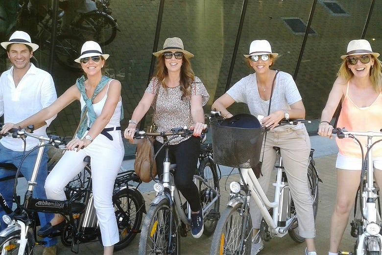 Malaga à vélo et selon votre choix !