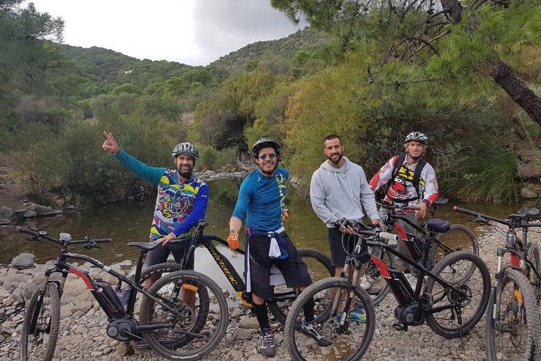 Visite en vélo électrique à l'embouchure de Guadalhorce