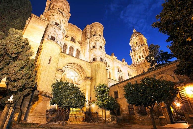 Visite nocturne dans Malaga