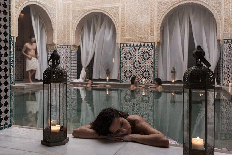 Hammam Al Ándalus, un bain dans l'histoire