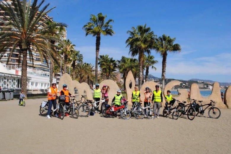 Visite en vélo électrique dans Malaga