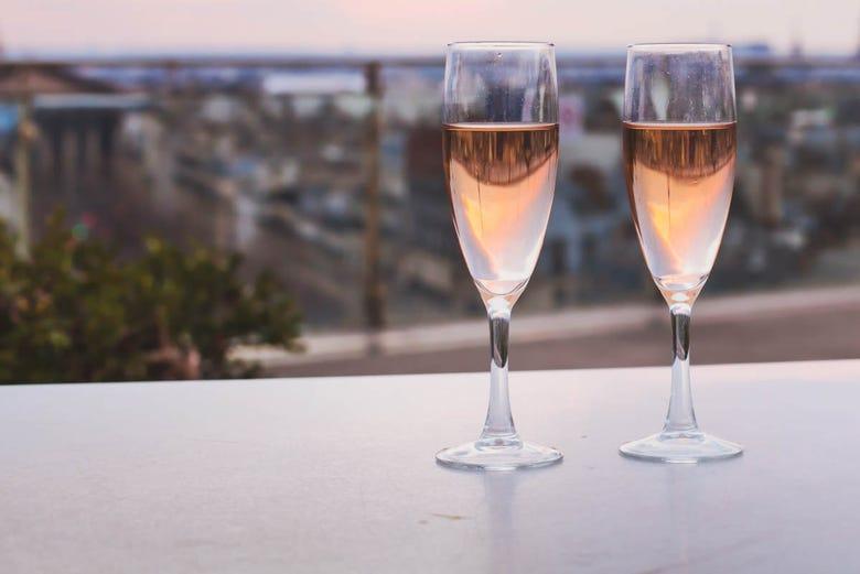 Visite nocturne dans Malaga, à la découverte de ses bars terrasses