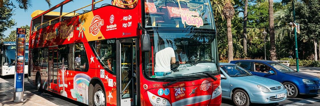 Autobús turístico de Málaga
