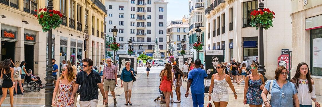 Compras en Málaga