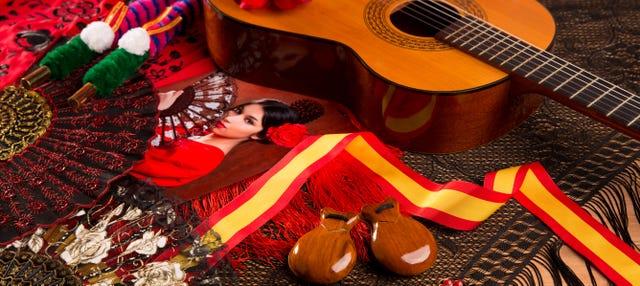 Show flamenco en el tablao Los Amayas