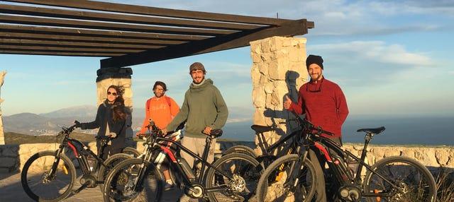Tour en bicicleta eléctrica por la desembocadura del Guadalhorce