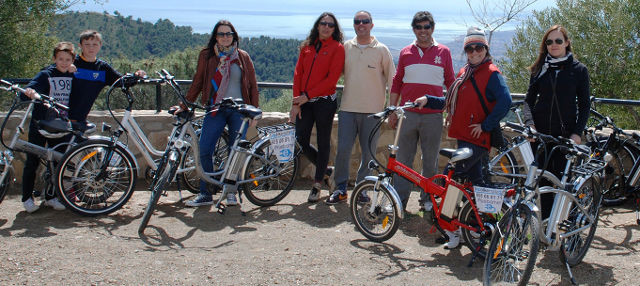 Malaga Electric Bike Tour