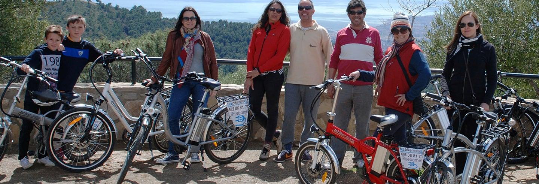 Tour di Malaga in bici elettrica