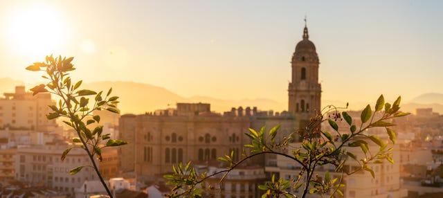 Tour guiado en coche eléctrico por Málaga
