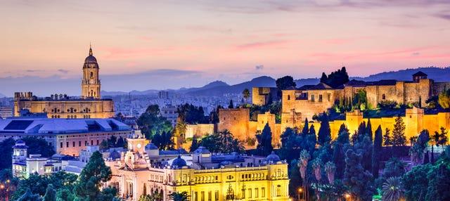 Tour nocturno por Málaga