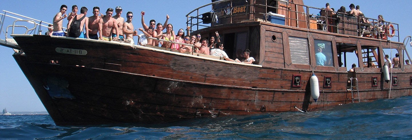Pirate Ship Party Boat