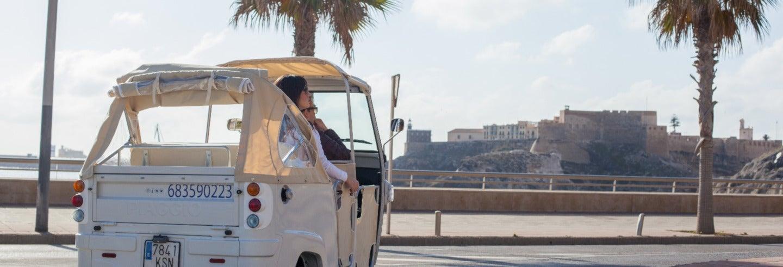 Tour en tuk tuk por Melilla