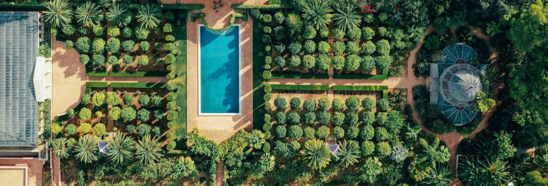 Ingresso do Jardín de L'Albarda