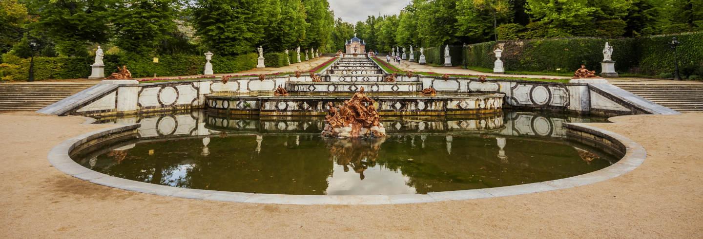Tour por los jardines del Palacio Real de La Granja