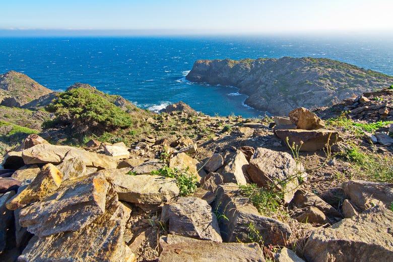 Balade en catamaran dans le Cap de Creus