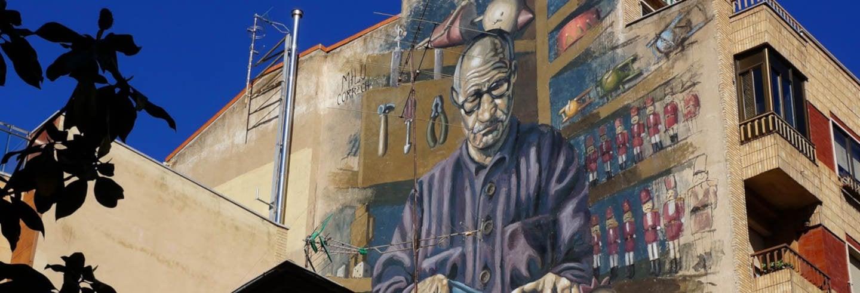 Tour de arte urbano por el Barrio del Oeste