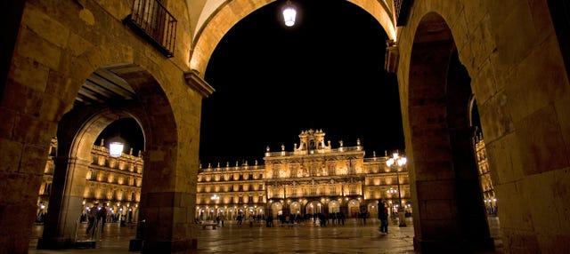 Tour por la Salamanca iluminada