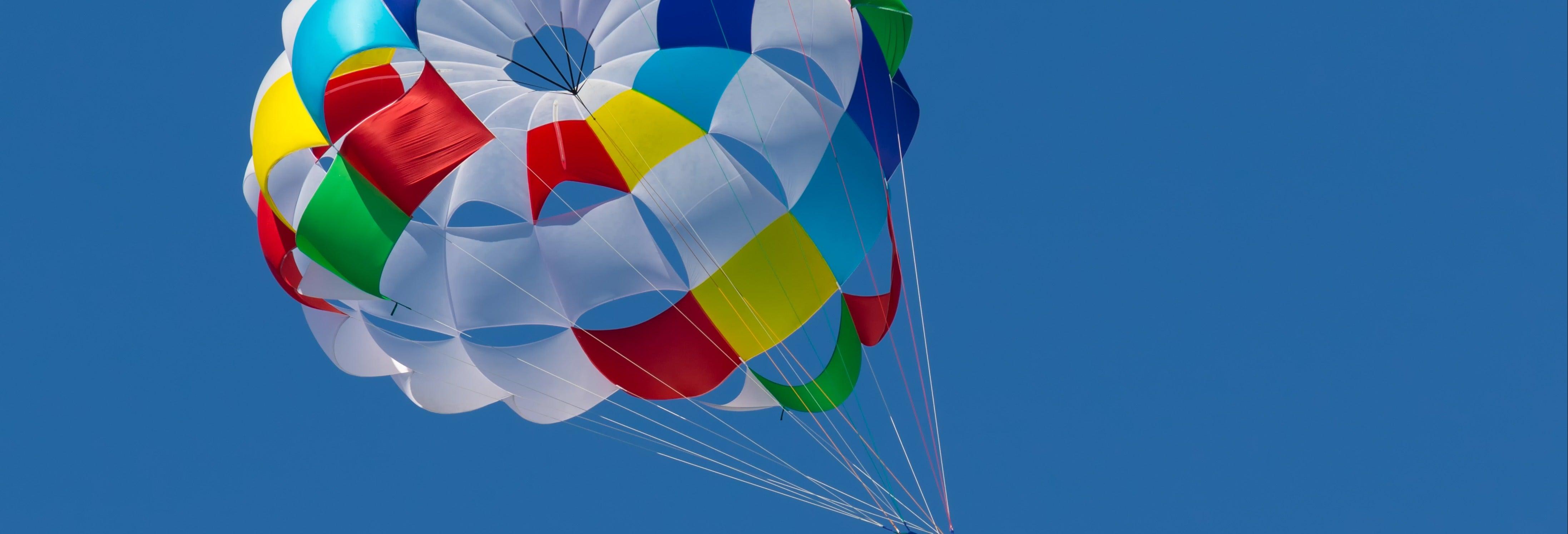 Parachute ascensionnel à Salou