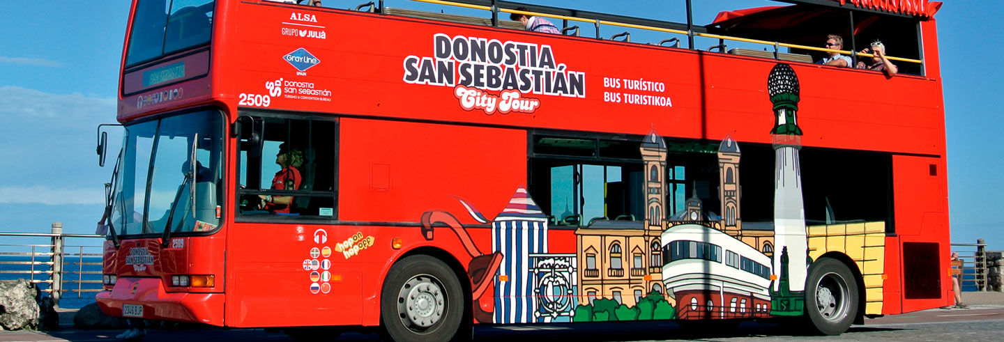 San Sebastian Sightseeing Bus Tour
