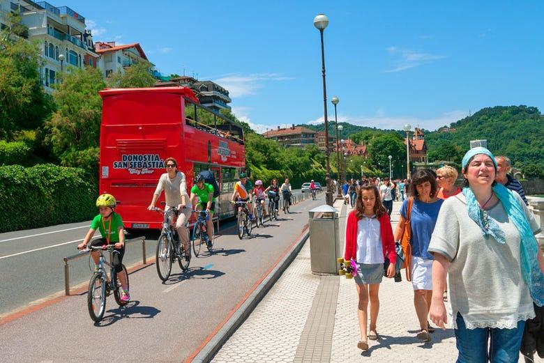 Bus touristique de Saint-Sébastien