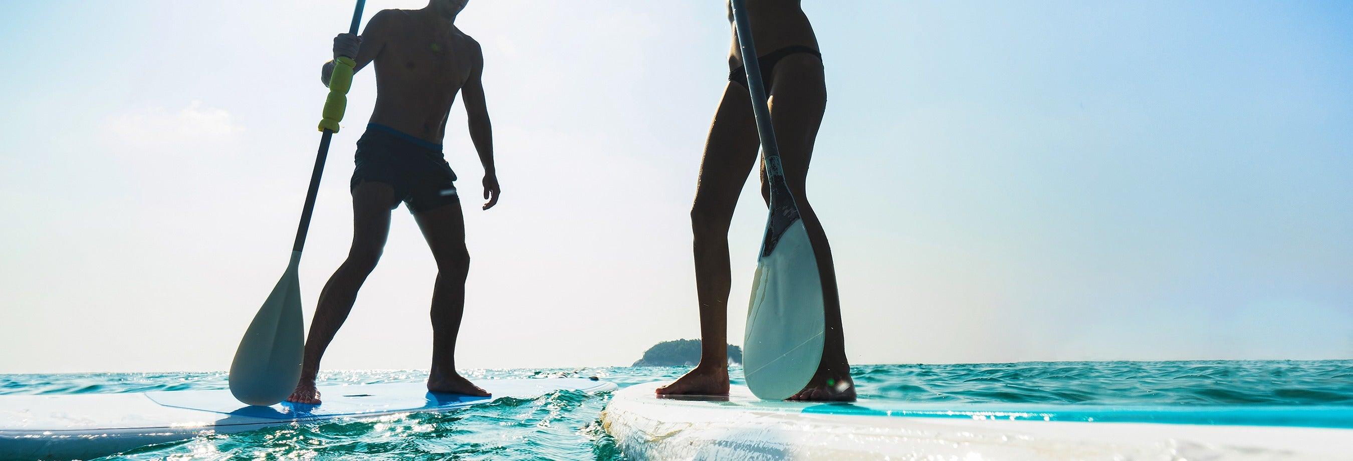 Location de paddle à Sancti Petri