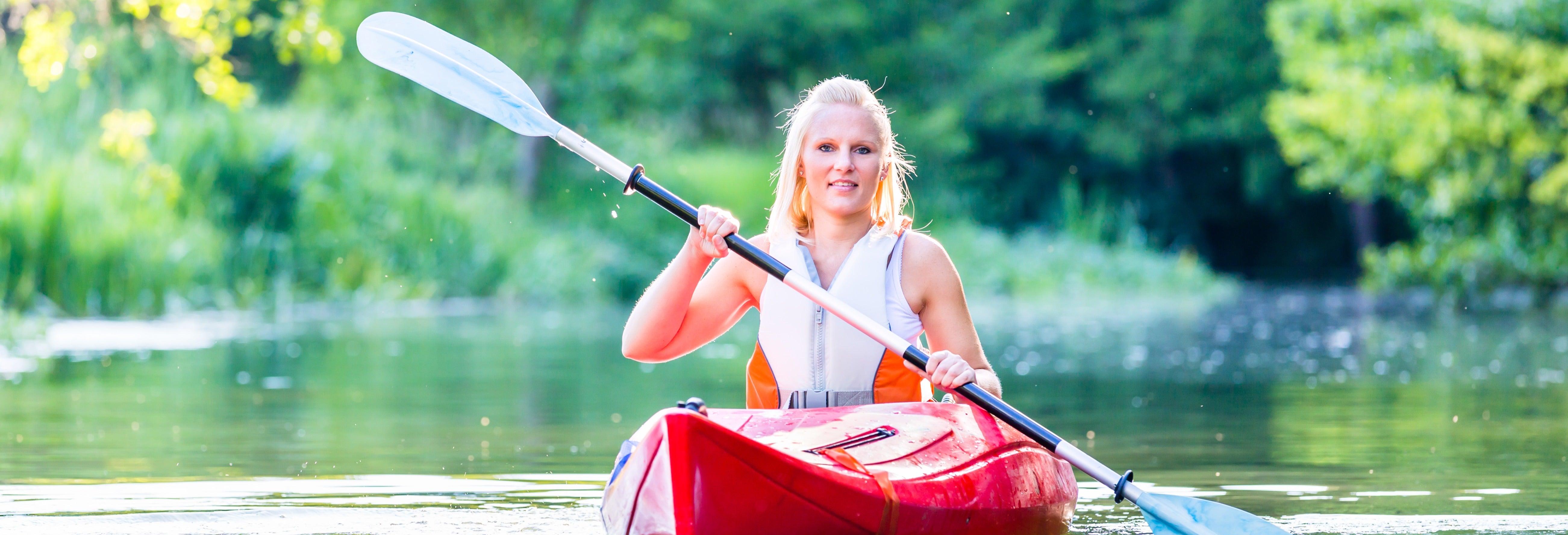 Descenso del Pas en canoa