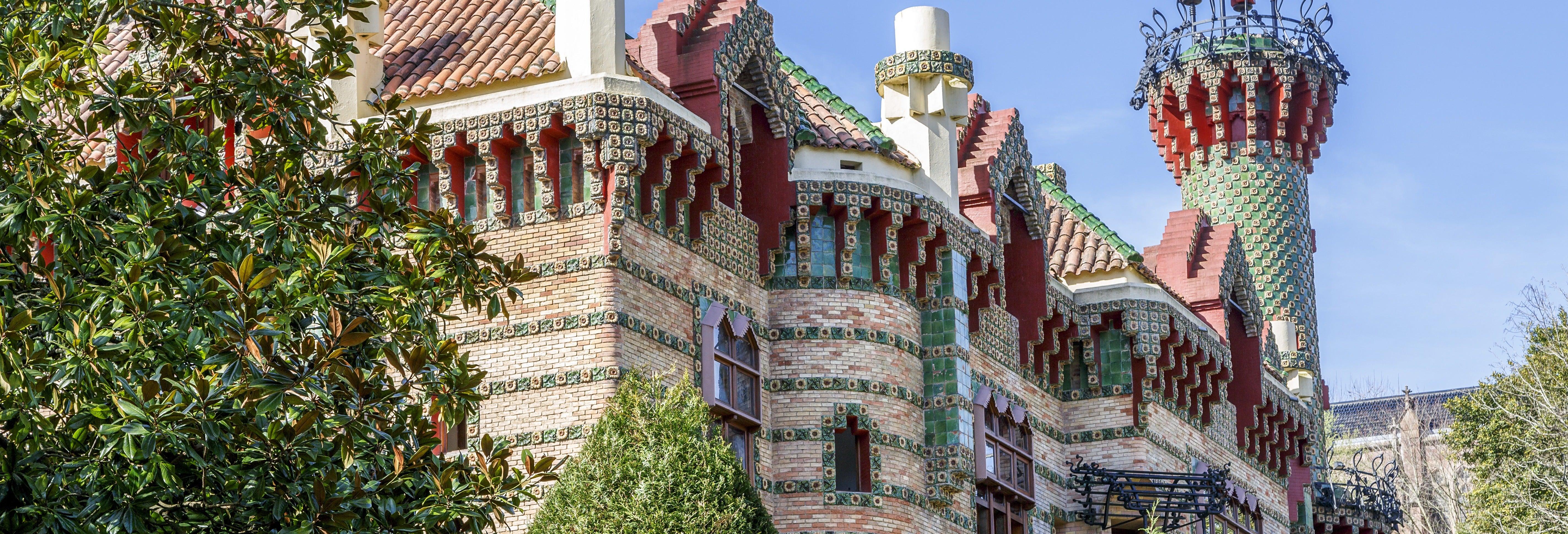 """Excursão a Comillas e à """"Capricho de Gaudí"""""""