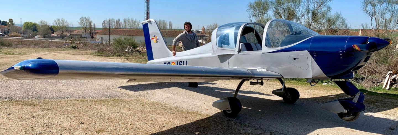 Paseo en avioneta desde Segovia