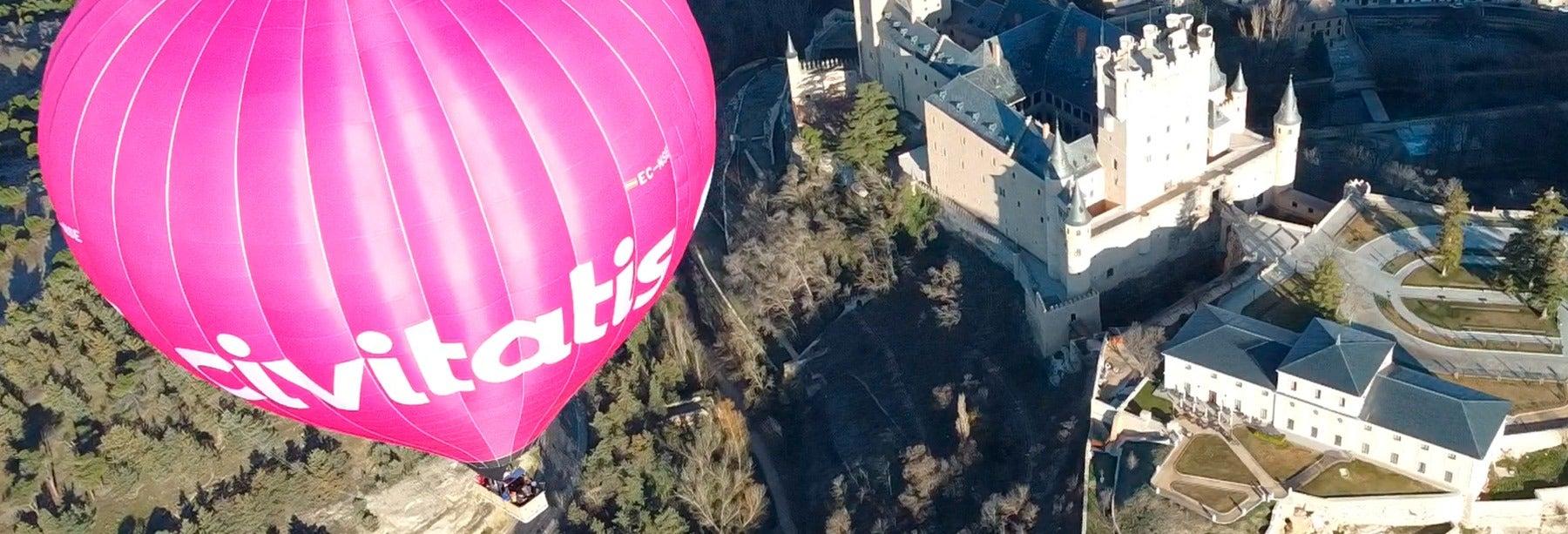 Passeio de balão por Segóvia