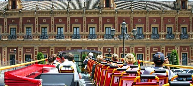 Autobús turístico de Sevilla