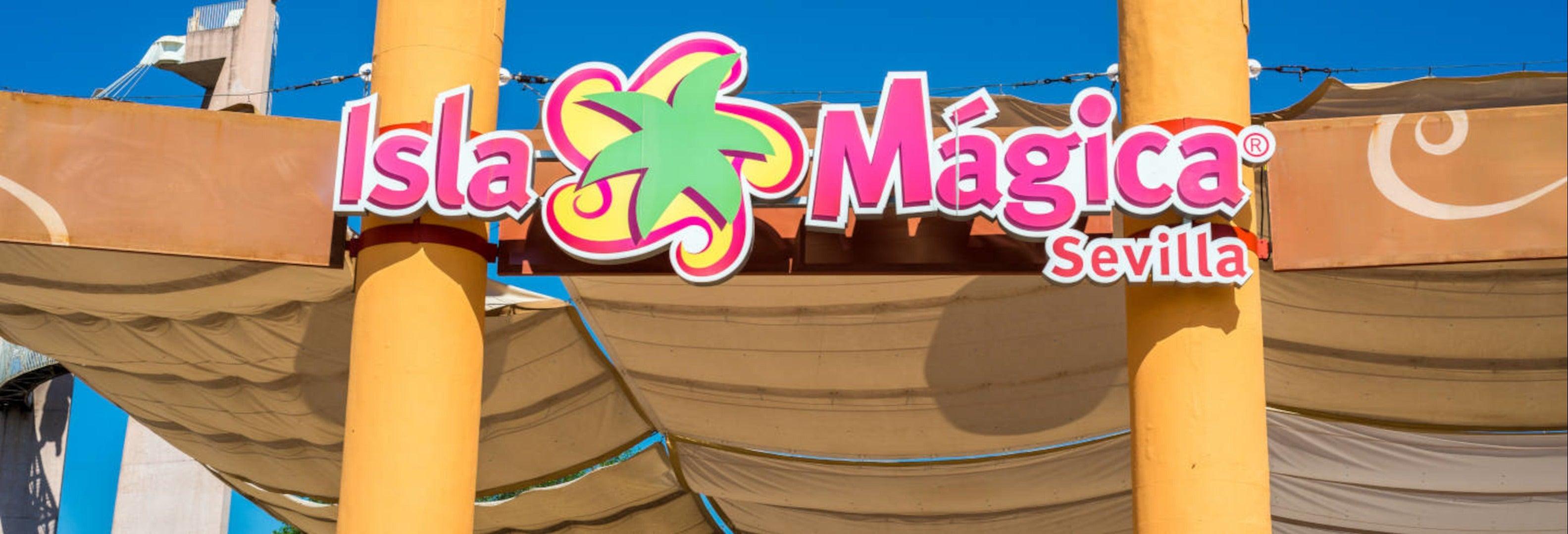 Ingresso do Parque Isla Mágica