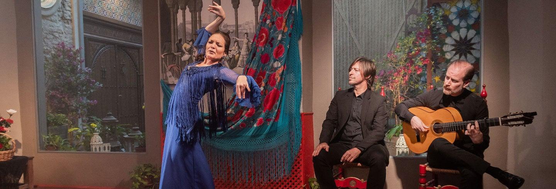 Espectáculo flamenco en la Casa de la Memoria