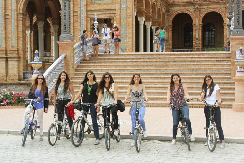 Visite de Séville à vélo