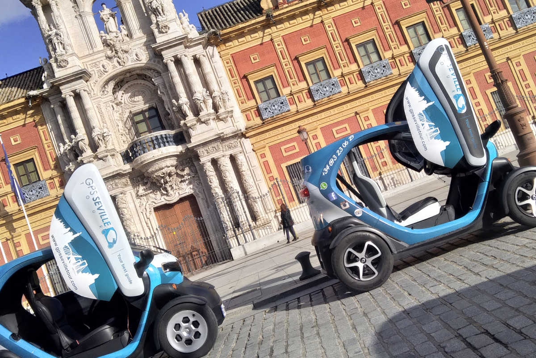 Balade dans Séville en voiture électrique