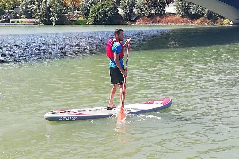 Location de paddle à Séville