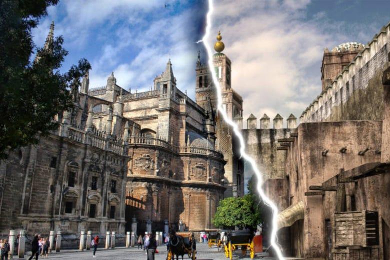 Visite de Séville + Expérience de réalité virtuelle