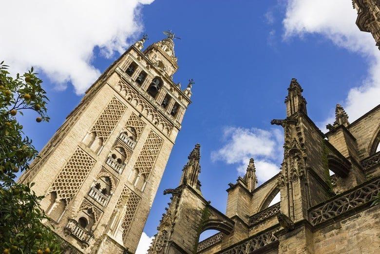 Visite de l'Alcázar, de la Cathédrale et de la Giralda