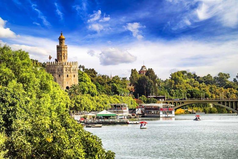 Balade en bateau dans Séville